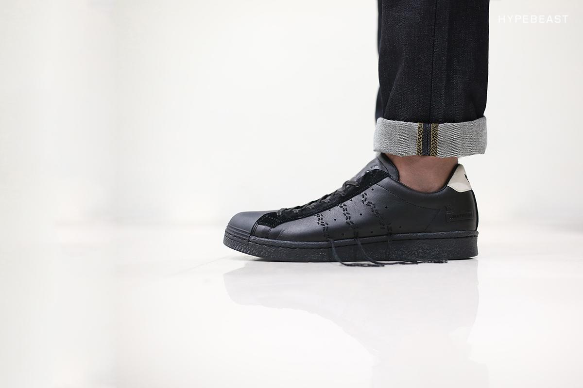 "A Closer Look at the Y's x adidas Consortium Super Position ""Black"""