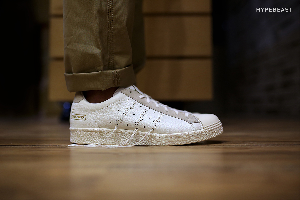 """A Closer Look at the Y's x adidas Consortium Super Position """"White"""""""