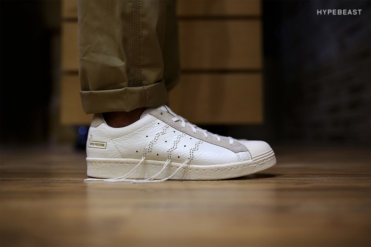 "A Closer Look at the Y's x adidas Consortium Super Position ""White"""