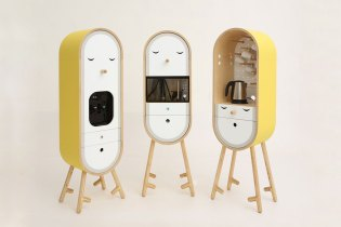 A First Look at LOLO the Capsular Micro-Kitchen