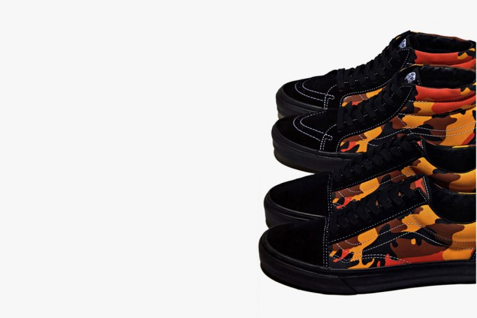 A First Look at the Supreme x Vans 2015 Spring/Summer Sk8-Mid & Old Skool