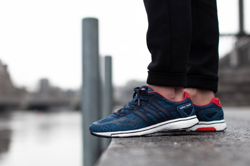 adidas adizero Boost LTD Blue/Running White/Red