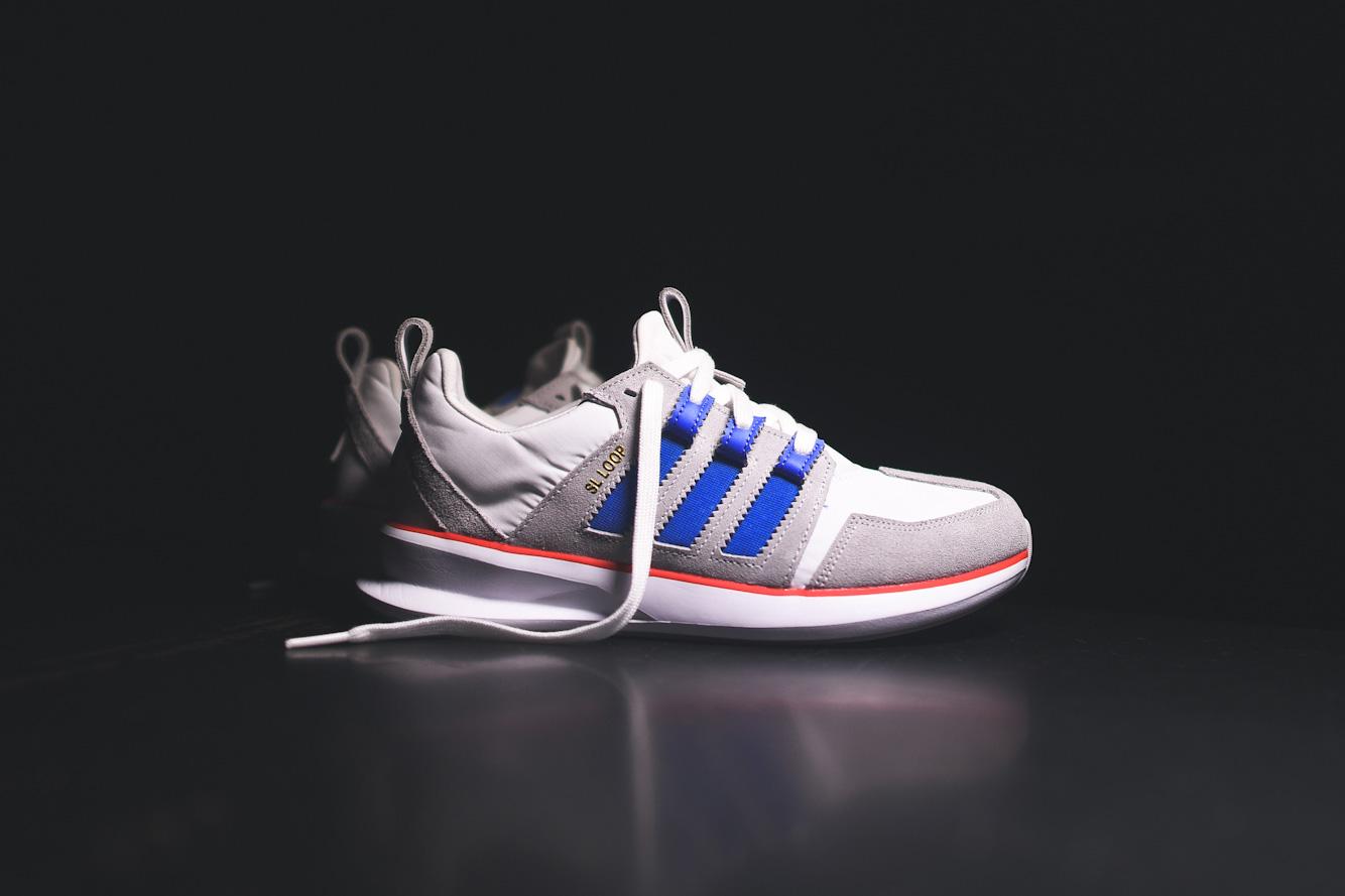 adidas Originals SL Loop Runner White/Bluebird/Red