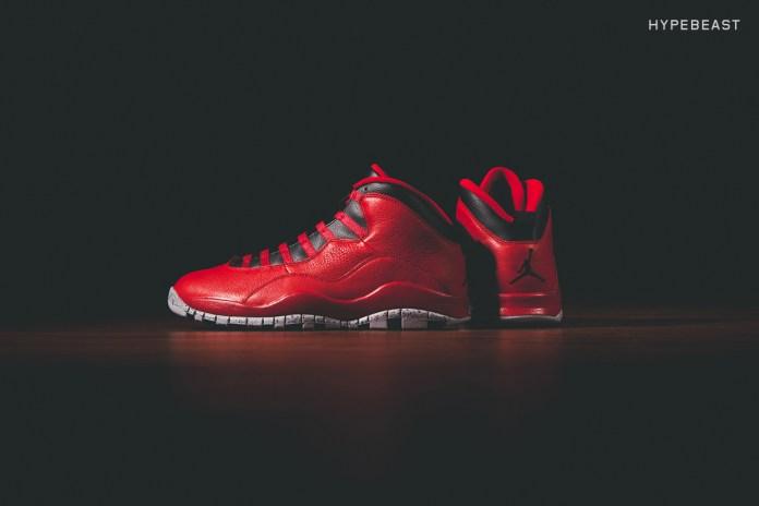 "Air Jordan 10 Retro 30th Anniversary ""Gym Red"""