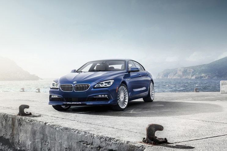 Alpina and BMW's Refined 2016 B6 Gran Coupe