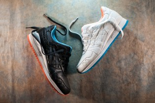 """ASICS Tiger GEL-Lyte III """"Miami Vice"""" Pack"""
