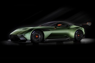 Aston Martin's Vulcan Boasts Upwards of 800 Horsepower