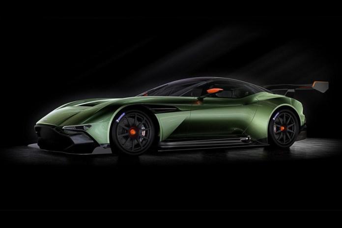 Aston Martin's Vulcan Boasts Upwards of 800 Horsepower