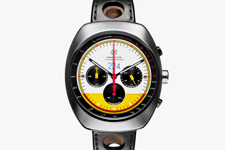 Officine Autodromo Auctions Final Prototipo Chonograph Vic Elford Limited Edition To Stop Domestic Violence