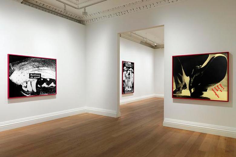 """Barbara Kruger """"Early Works"""" @ Skarstedt London"""