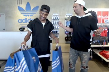 Big Sean Goes Sneaker Shopping with Complex