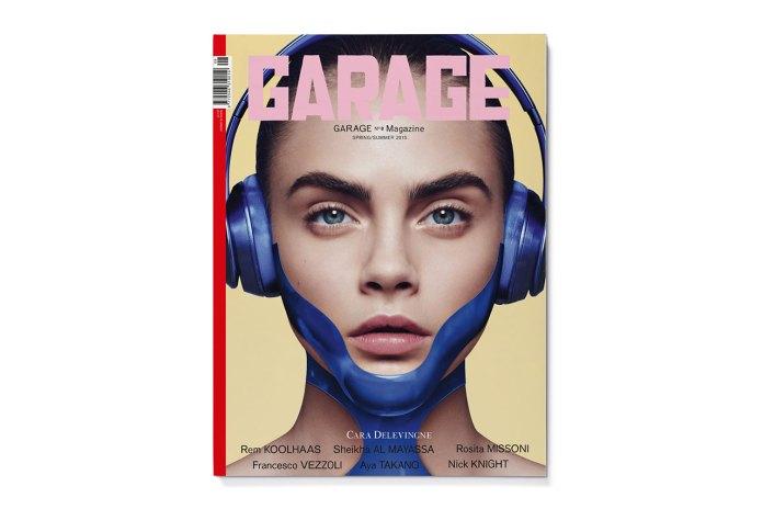 Cara Delevingne, Binx Walton & Lara Stone Cover GARAGE Magazine's Eighth Issue