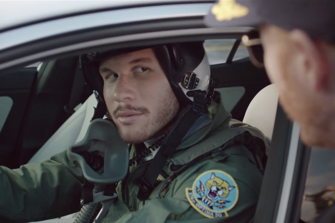 Blake Griffin Thinks He's a Pilot in Kia Commercial
