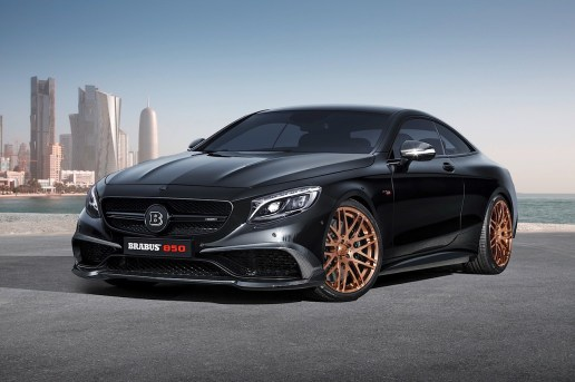 Brabus 850 6.0 Biturbo Coupe is the World's Fastest All-Wheel-Drive Coupe