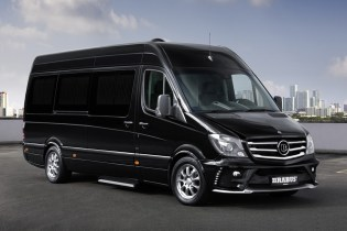 Brabus Business Lounge is Based off the Mercedes Sprinter