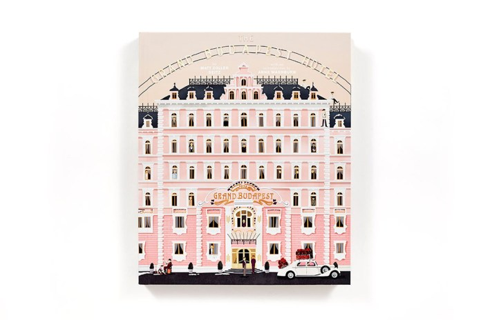 'The Grand Budapest Hotel' Book