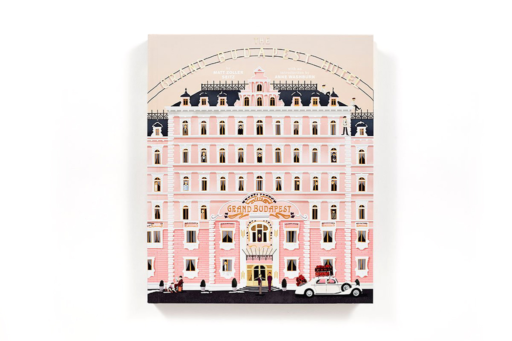 'The Grand Budapest Hotel' Book