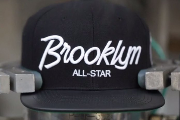 "A Look at the Manufacturing Process of Mitchell & Ness' ""New York & New York"" Snapback"