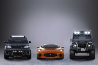 New Jaguars, Range Rovers & Land Rovers to Appear in 007 Movie 'Spectre'