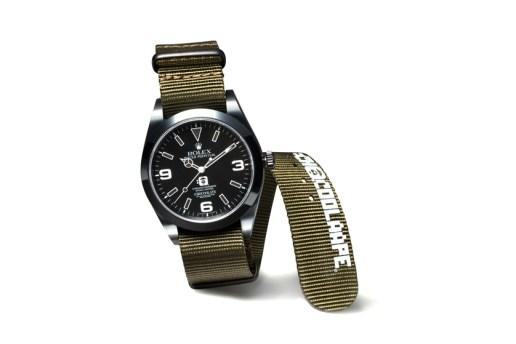 :CHOCOOLATE x AAPE by A Bathing Ape x Bamford Watch Department Rolex Explorer