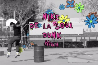 Bobby Worrest Skates the De La Soul x Nike SB Dunk High