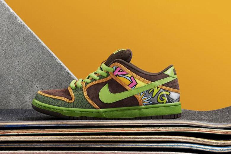 De La Soul x Nike SB 2015 Dunk Pack