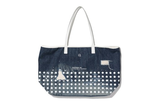 DENIM BY VANQUISH & FRAGMENT Damaged Denim Tote