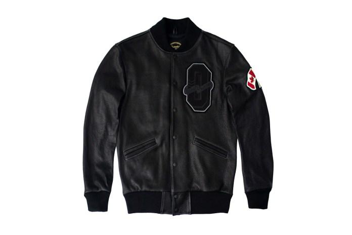 "Drake Presents OVO x Roots Canada 2015 ""October"" Varsity Jacket"