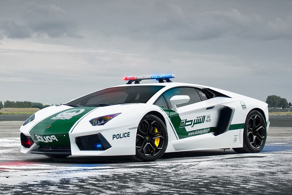 Dubai Police Car Fleet Ensures There is No Outrunning the Force