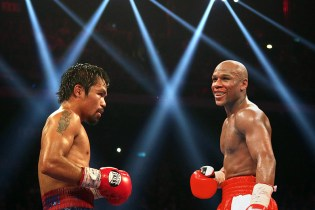 Floyd Mayweather Jr. Announces Manny Pacquiao Fight