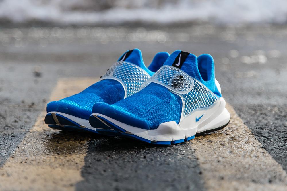 "fragment design x Nike Sock Dart ""Photo Blue"""