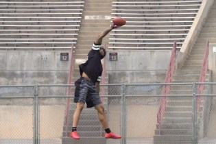 Giants' Odell Beckham Jr. in Latest Dude Perfect Trick Shot Video