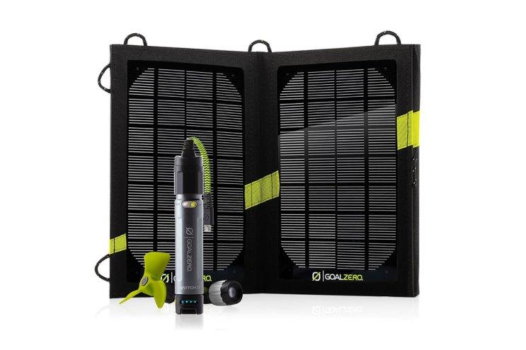 Goal Zero Switch 10: Solar Powered Portable Battery