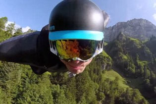GoPro Presents Incredible Footage of a Wingsuit Flight in Switzerland