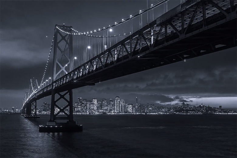 """Gotham City SF,"" A Timelapse Film by Toby Harriman"