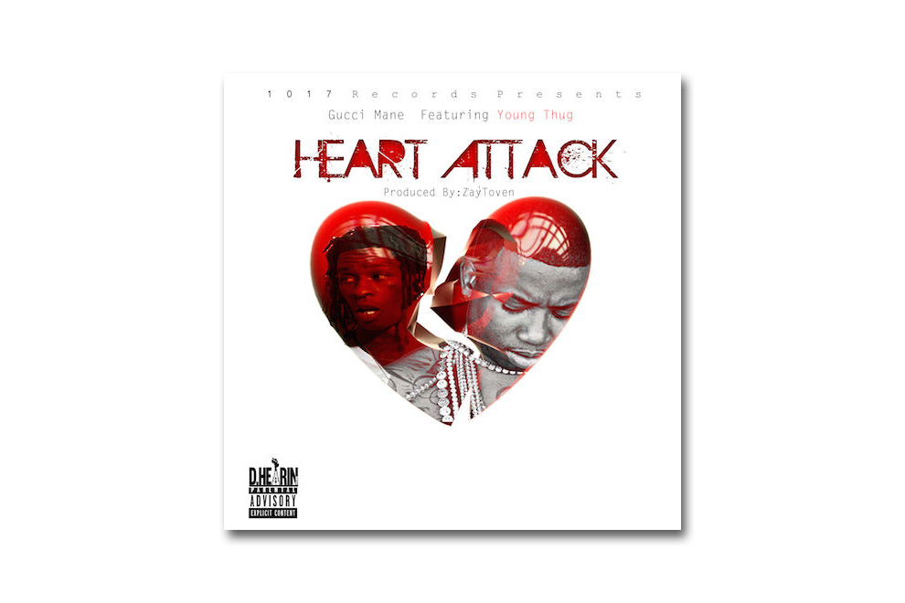 Gucci Mane featuring Young Thug - Heart Attack