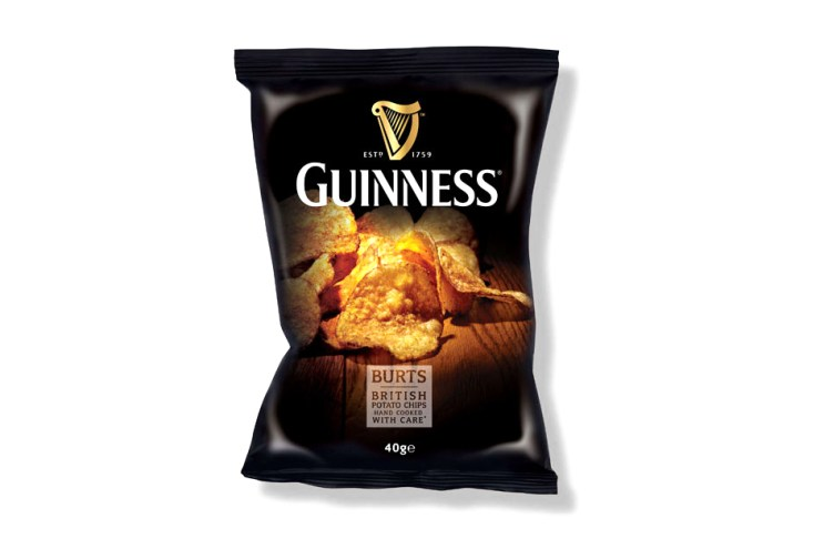 Guinness-Flavored Potato Chips