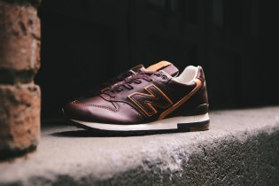 Horween Leather x New Balance M996BHR