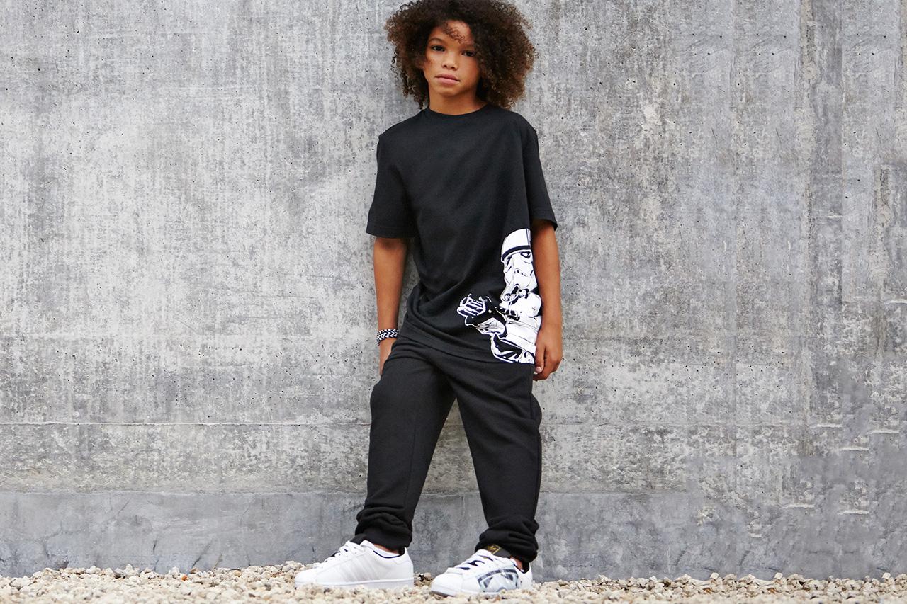 "#hypebeastkids: Star Wars Kids x adidas Originals ""Stormtrooper"" Pack"