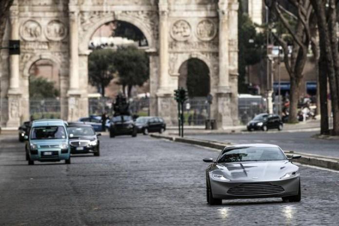 James Bond Takes the New Aston Martin DB10 for a Ride