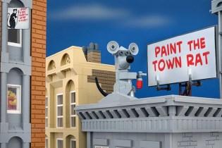 Jeff Friesen Recreates New Banksy Pieces Using LEGO