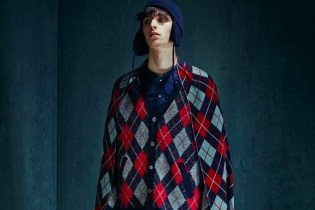 JohnUNDERCOVER 2015 Fall/Winter Lookbook