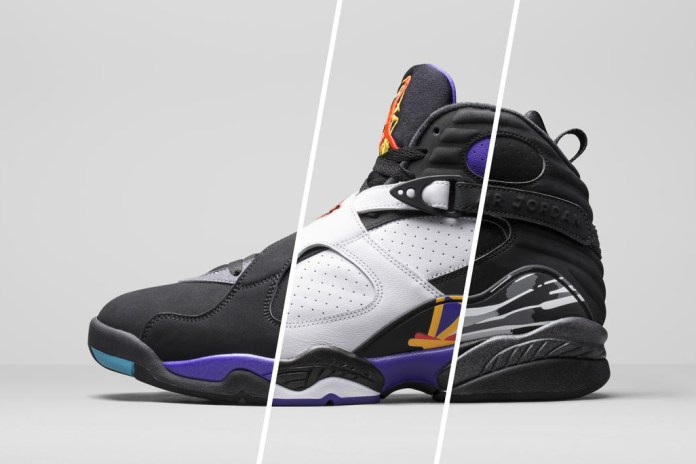"Jordan Brand Announces ""Aqua"" & ""Chrome"" 8s, ""Laney"" 14s and More for Holiday 2015"