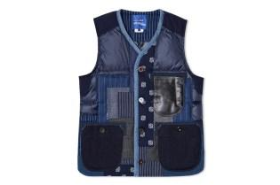 Junya Watanabe MAN x Duvetica Patchwork Down Vest