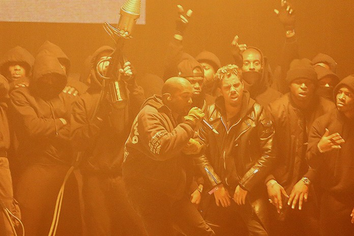 """UPDATE: Kanye West Debuts """"All Day"""" at the 2015 BRIT Awards"""