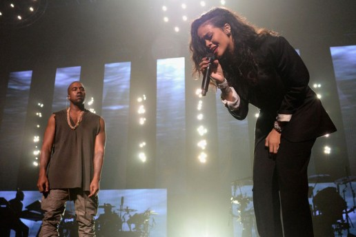 Kanye West & Rihanna Give Surprise Performance at Roc Nation's Super Bowl Party in Phoenix