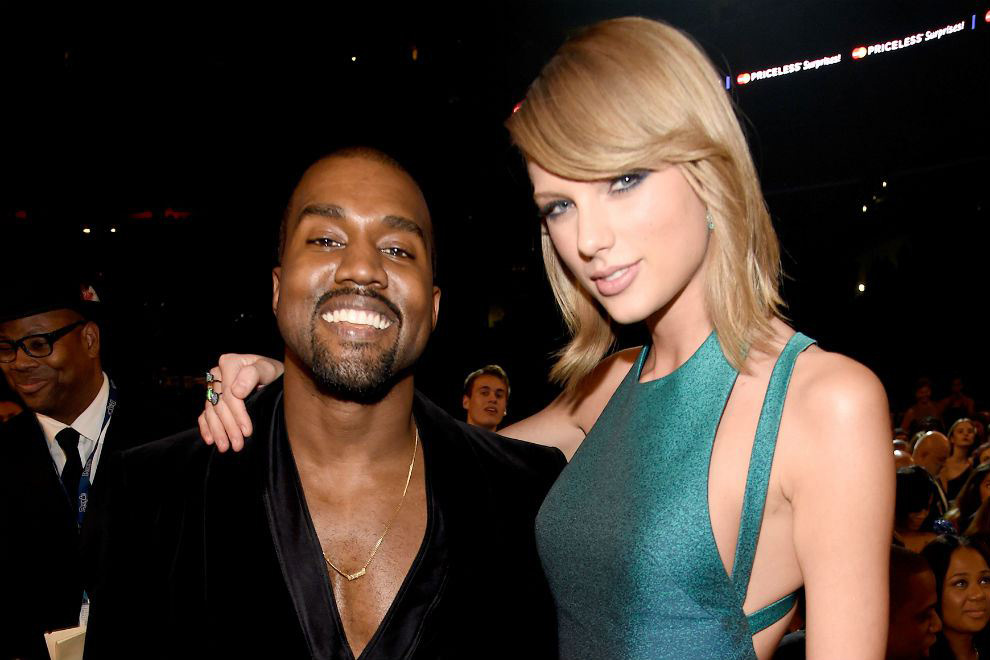 Kanye West Shaking Off Past, Hitting Studio with Taylor Swift