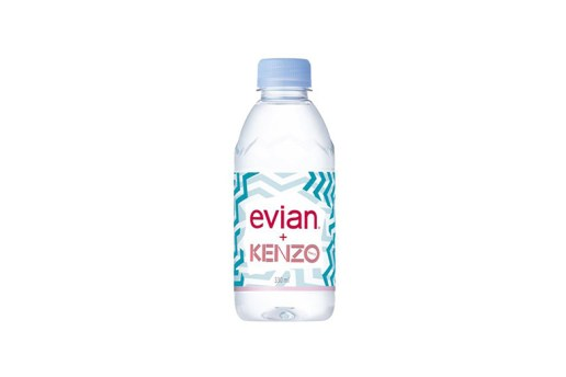 Kenzo x Evian Limited Edition Water