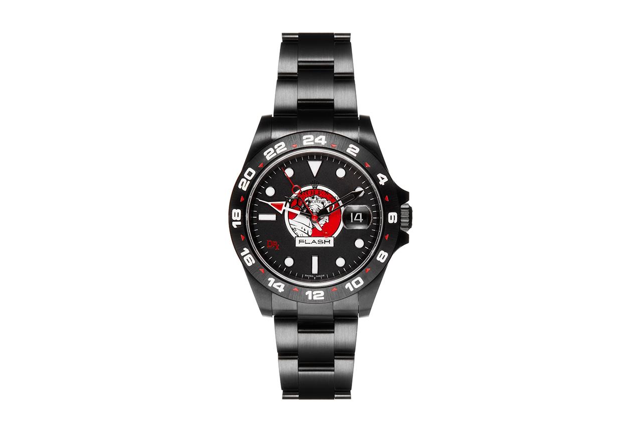 "Dr. Romanelli x Bamford Watch Department ""Flash Gordon"" and ""Phantom"" Rolex Watches"