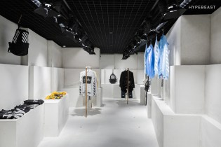 A Look Inside the OFF-WHITE Hong Kong Store